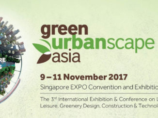 11月9日~12日「GreenUrbanScape Asia 2017 Marketplace」に出展します。